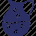 beaker, ewer, jug, water icon