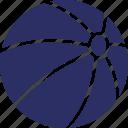 ball, ball game, beach ball, game icon