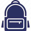 backpack, baggage, luggage, suitcase icon