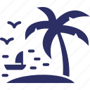 arecaceae, coconut tree, date tree, palm tree icon