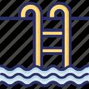 beach, pool, swimming, swimming pool icon