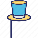 cap design, decorative hat, hat mask, hat props icon