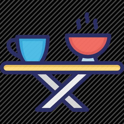 coffee, supper, tea, tea table icon