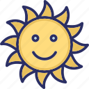 daylight, morning, sunlight, sunrise icon
