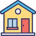 chalet, home, house, hut icon