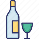 alcohol, cocktail, drink, water icon