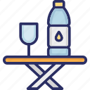 drink, liquor, soft drink, water bottle icon