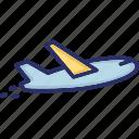 aeroplane, air travel, airbus, airplane icon