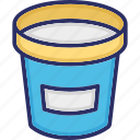 bucket, carry water, water container, water jar icon