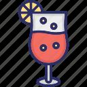 beverage, citrus juice, cocktail, juice icon
