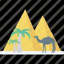pyramid, giza, landmark, monument, egypt icon
