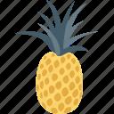 ananas, food, fruit, natural food, pineapple icon