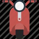 motorbike, motorcycle, transport, vespa, vespa scooter icon