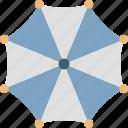 sunshade, canopy, parasol, umbrella, rain protection icon