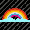 fantasy, spectrum, dream, rainbow, rainbow curve icon