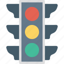 traffic semaphore, signal lights, traffic lamps, traffic lights, traffic signals icon