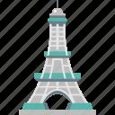 eiffel tower, champ de mars, iron lattice tower, paris, tour eiffel icon