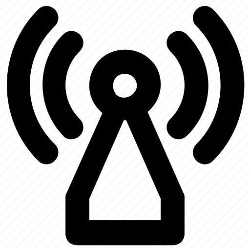 connection, internet, signals, wifi tower, wireless signals icon