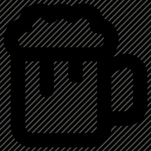 ale, beer, beer mug, beer pint, drink icon