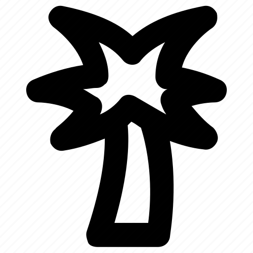 date, island, palm, palm tree, tree icon