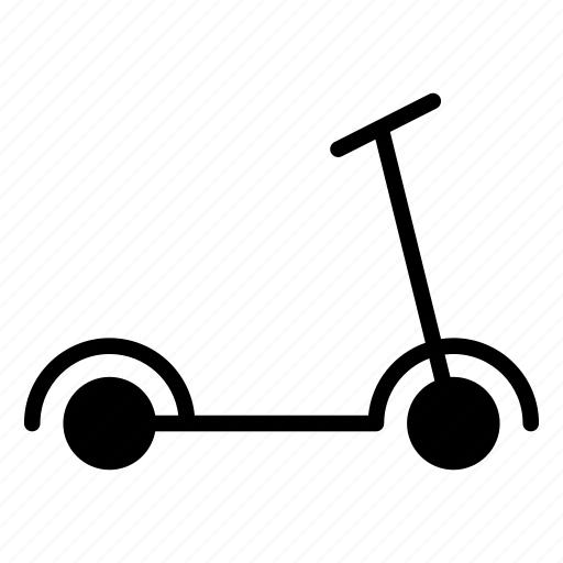 Bicycle, cycle, scooty, skating, travel icon - Download on Iconfinder