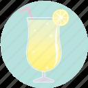 beverage, cocktail, drink, lemon, lemonade, summer, yellow