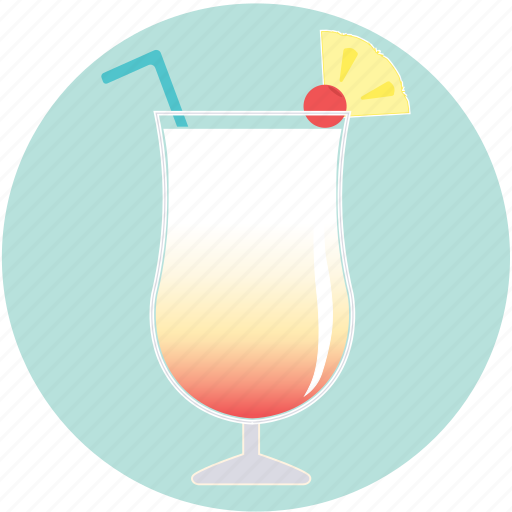 alcohol, beverage, cocktail, drink, juice, pina colada, summer icon
