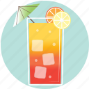 beverage, cocktail, drink, lemon, long island, orange, summer icon