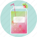 beverage, cherries, drink, lime, mason jar, sumerdrink, summer icon