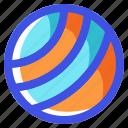 ball, holiday, nature, summer, travel, vacation icon