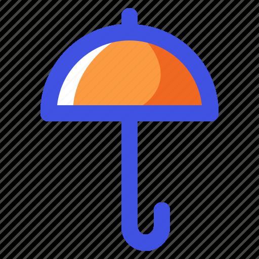 holiday, nature, summer, travel, umbrella, vacation icon