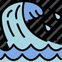 ocean, sea, season, summer, water, wave