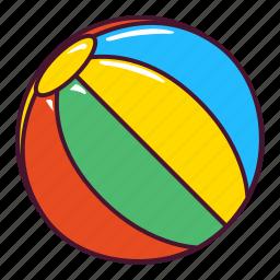 ball, beach, play icon