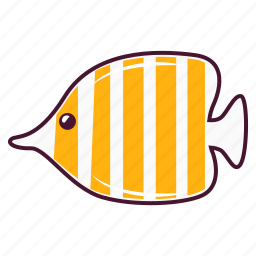 animal, fish, ocean icon