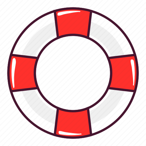 float, safety icon