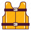 life, protection, vest icon