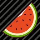 fresh, fruit, watermelon