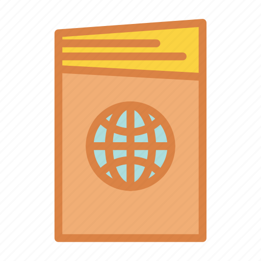 atlas, beach, map, summer, travel, vacation icon
