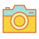 beach, camera, photo, summer, vacation icon