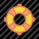 beach, life, lifeguard, raft, summer, vacation icon