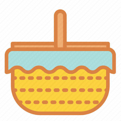basket, beach, food, lunch, picnic, summer, vacation icon