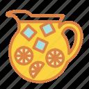beach, drink, lemonade, pitcher, sangria, summer, vacation icon