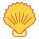 beach, seashell, shell, summer, vacation icon
