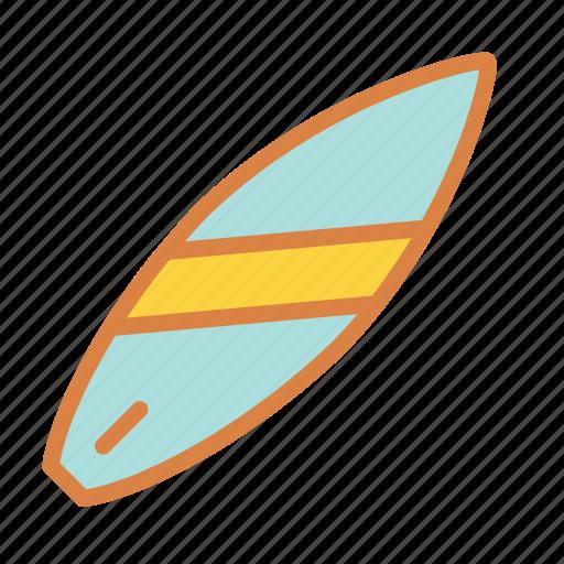 beach, sports, summer, surfboard, surfing, vacation icon