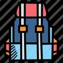 backpack, baggage, camping, hiking, luggage, travel, vacation