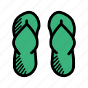 fashion, flipflops, vacation, footwear, holiday, beach, casual