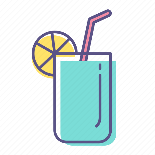 cocktail, drink, glass, juice, mojito, water icon