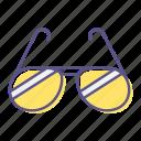 eyeglass, fashion, glasses, spectacles, sun, sunglasses, sunglasset icon