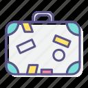bag, journey, luggage, suitcase, tourism, travel, vacation icon