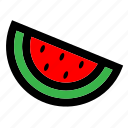 color, fill, fruit, summer, travel, tropical, watermelon